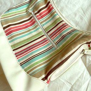 Colorful Striped Purse